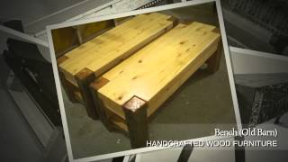 Custom Wooden Benches - Gallery Slideshow - Custommade.com