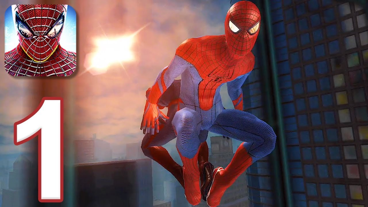 The Amazing Spider-Man - Gameplay Walkthrough Part 1 (iOS, Android ...