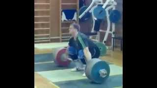 Biggest Snatch in History 217 kg by Dmitry Lapikov
