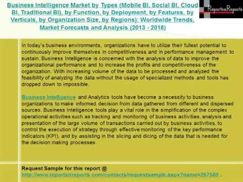 2018 Business Intelligence Industry Alternative Strategies