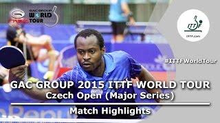 Czech Open 2015 Highlights: ALAMIAN Nima vs ARUNA Quadri (R 1)