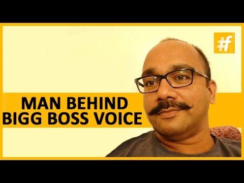 meet the man behind bigg boss voice performer