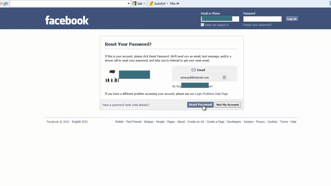 How to get my facebook password if i forgot it