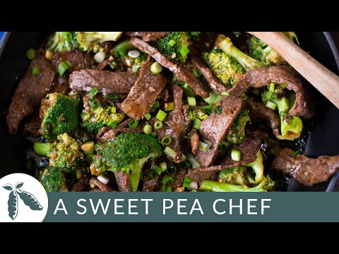 Healthy Beef And Broccoli | A Sweet Pea Chef