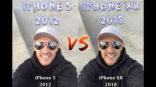 32 Photos: iPhone 5 (2012) vs iPhone XR (2018) | Much Improvement?