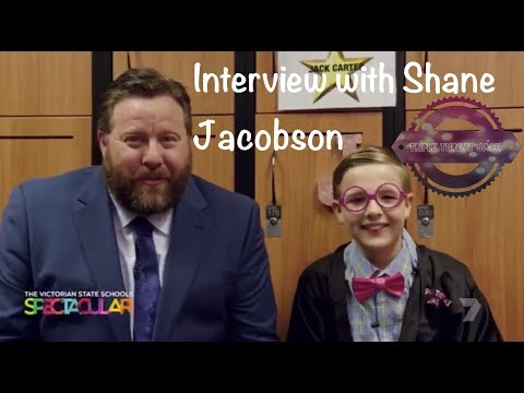 Victorian State School Spectacular Interview with Shane Jacobson