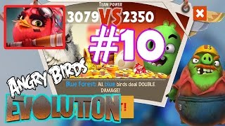 Angry Birds Evolution: Gameplay Chapter-5 Flighty Birdy Trap Level 24 Plus Final Boss Fight