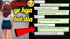 How to impress a girl on chat | Make new friends