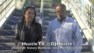 HustleTV Time Warner Cable DJ Hustle @KanaryD