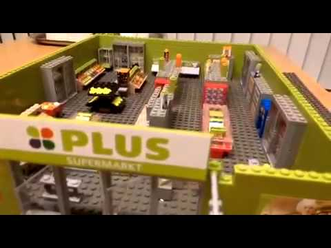 supermarkt van plus bricks youtube. Black Bedroom Furniture Sets. Home Design Ideas