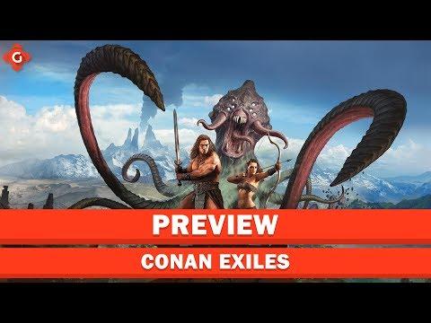 Der finale Release des Schwengelsimulator ist nah!   Preview zu Conan Exiles