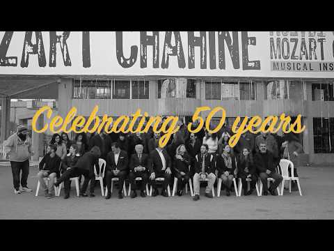 Mozart Chahine celebrates 50 years