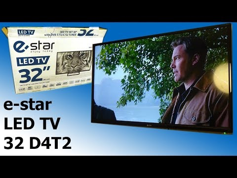 EStar LEDTV32D4T2 (32D4T2) - Лучший телевизор для кухни!