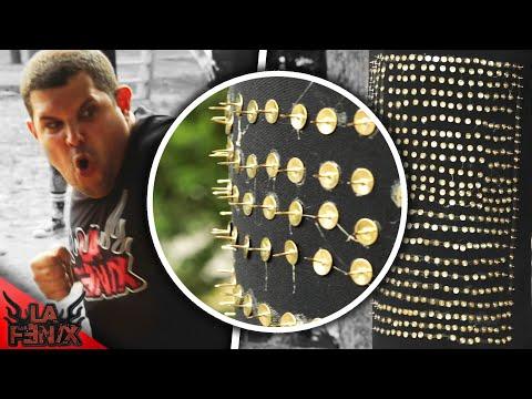 LUTANDO CONTRA UM SACO DE BOXE COM TACHINHAS from YouTube · Duration:  6 minutes 32 seconds