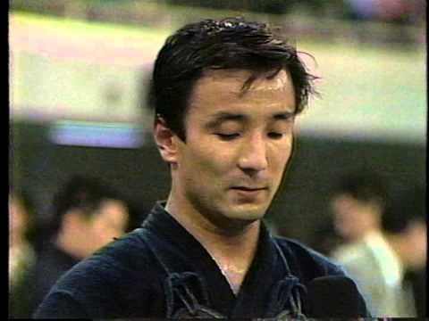 白川雅博(東京) - 宮崎正裕(神奈川) 1990 全日本剣道選手権大会