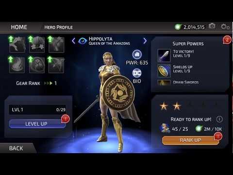 Dc Legends: Unlock Hippolyta Queen Of The Amazons