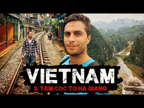 VIETNAM | Solo Backpacking | Ep3: Tam Coc to Ha Giang + Phu Quoc