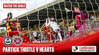 Goals! Hearts hammer Thistle at Firhill