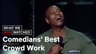Best Stand Up Comedy Crowd Work What We Watched Netflix is a Joke