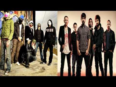 Hollywood Undead vs Linkin Park-Black Dahlia/Blackout(Mash-up)