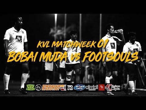 Bobai Muda: Klang Valley League 2018 Bobai Muda vs Footsouls