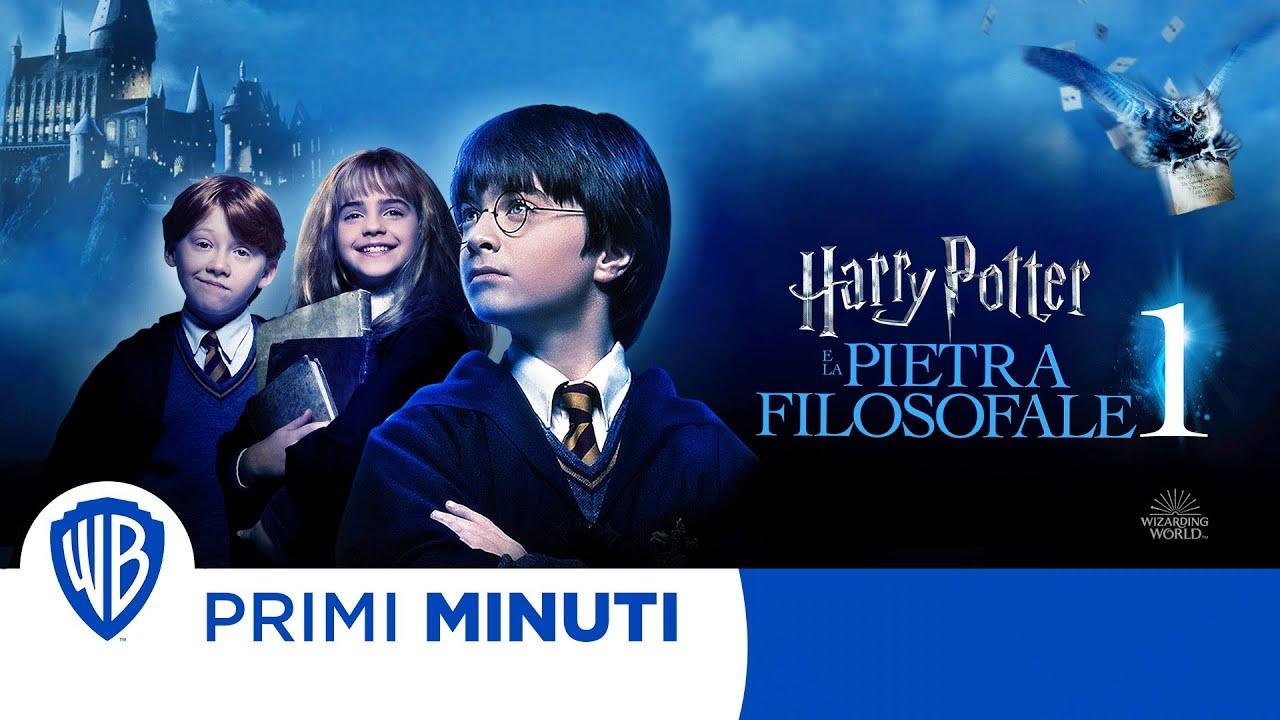 Harry Potter E La Pietra Filosofale I Primi Minuti Youtube