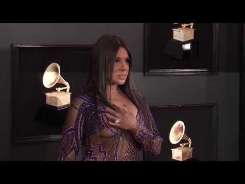 Toni Braxton on the Red Carpet | 2019 GRAMMYs