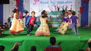 guvva gorinkatho song dance performance by sri aradhya high school kids