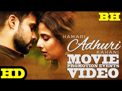 'Hamari Adhuri Kahani' Promotion Events Full Video | Emraan Hashmi, Vidya Balan, Rajkummar R