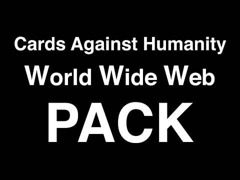 Cards Against Humanity World Wide Web Pack Unboxing