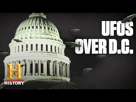 Did Aliens Invade Washington D.C. In 1952? | Dark History