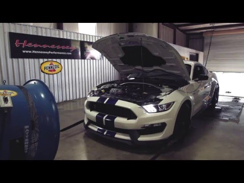 Hennessey Upgrade for Ford Mustang Shelby GT350 Boosts Power to 575 HP