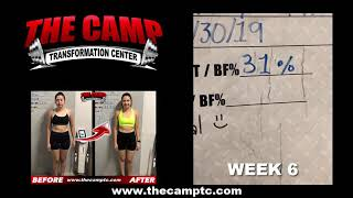 Calexico Fitness 6 Week Hard Body Challenge Results -Mary Moreno