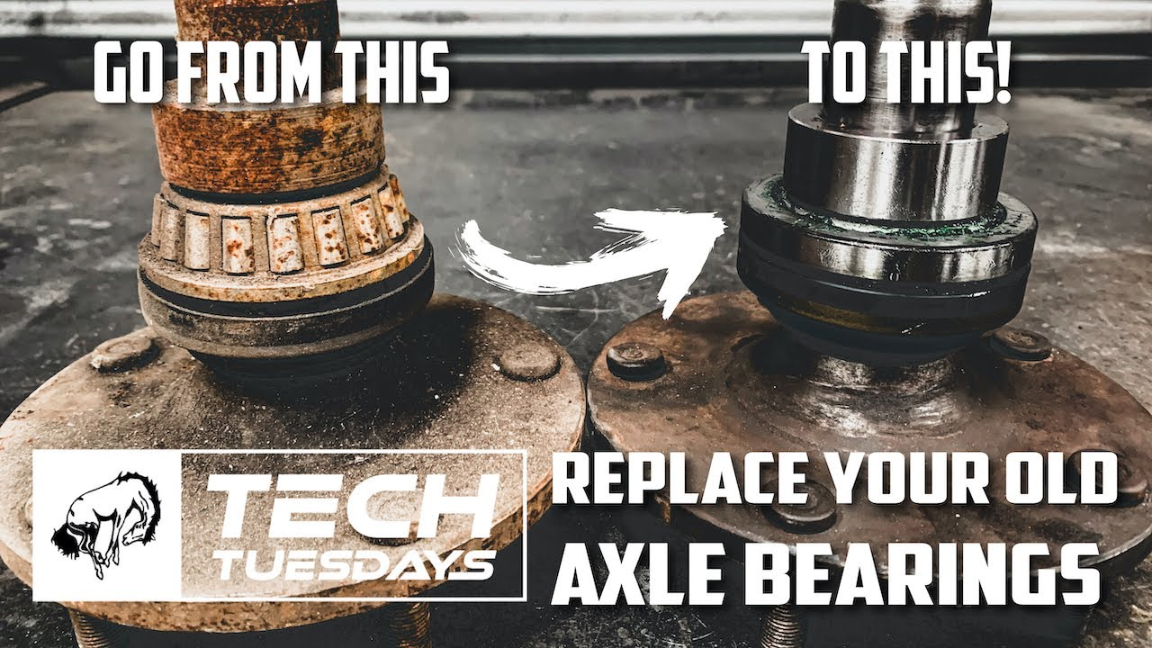 Tech Tuesday: How to Replace Your Old Axle Bearing