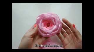 видео Цветы для штор своими руками: процесс создания