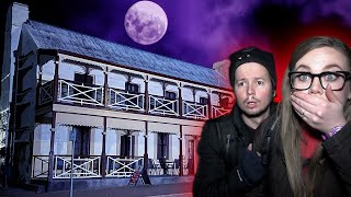 Incredible GHOST Evidence Captured in HAUNTED Hotel   Mount Remarkable Hotel   Part 1