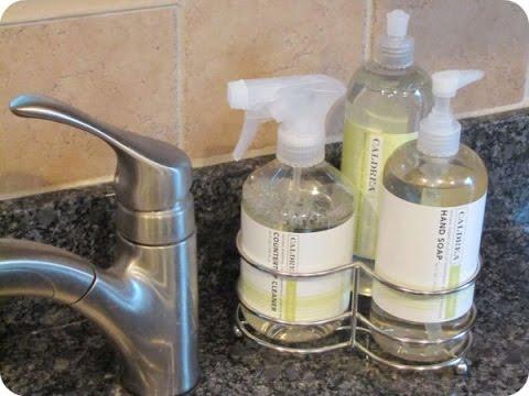 Kitchen Soap Dispenser Caddy