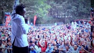 Ethiopia - Ziggy Zaga - Sawa Sawa stage performance - New Ethiopian Music 2015