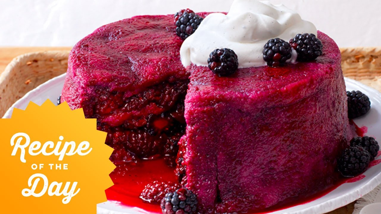 Recipe of the Day: Blackberry Summer Pudding | Food Network