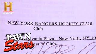 Pawn Stars: Wayne Gretzky's NHL Player's Contract (Season 7) | History