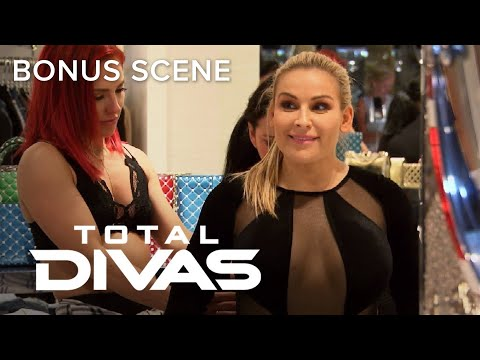 "Nikki Bella & Natalya Try On Sexy ""Dancing with the Stars"" Outfits 