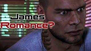 James: Romance and Pullups (Mass Effect 3 Citadel DLC)