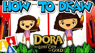 How To Draw Dora From Dora And The Lost City Of Gold