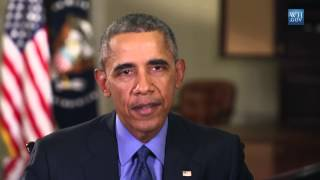 Obama: Zip Codes Should Not Determine Your Destiny(Transcript: Hi, everybody. It's our job as citizens to make sure we keep pushing this country we love toward our most cherished ideals – that all of us are created ..., 2015-07-12T14:00:22.000Z)