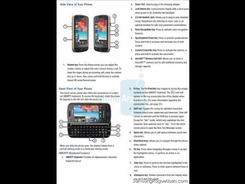 SamsungRogueUsers.com - Specifications for the new Samsung Rogue AKA Glyde2