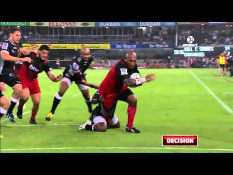 Super Rugby: Sharks V Crusaders (Round 5)