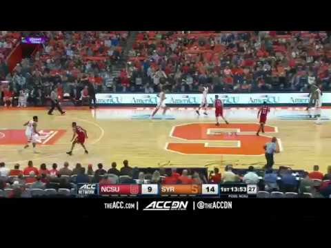 North Carolina State vs Syracuse College Basketball Condensed Game 2018