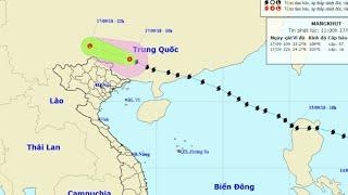 Dự báo thời tiết 17/9:Bão Mangkhut suy yếu, Hà Nội giảm 6 độ