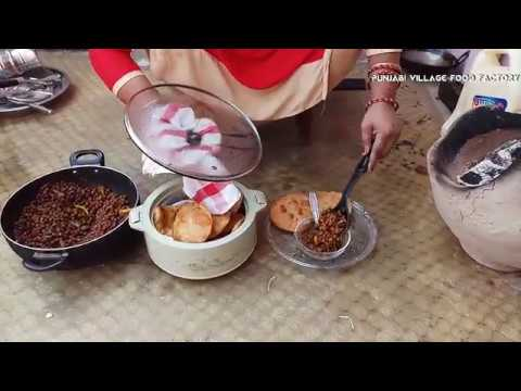 how to make chole puri recipe