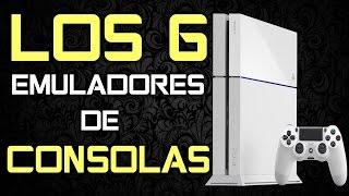 LOS 6 EMULADORES PARA CONSOLAS EN PC |TOP JUEGOS|